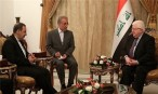 President Masum Lauds Iran's Effective Role in Iraq's Stability