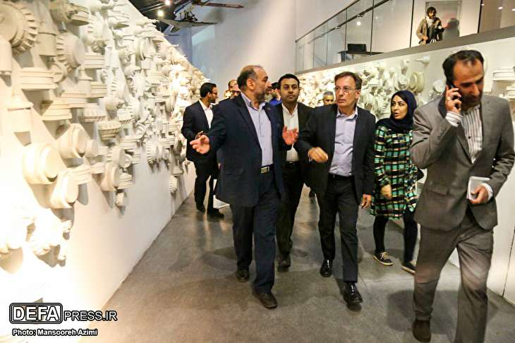 Images/Visited the head of the Italian Drug Control from the museum of the Islamic revolution and the sacred defense